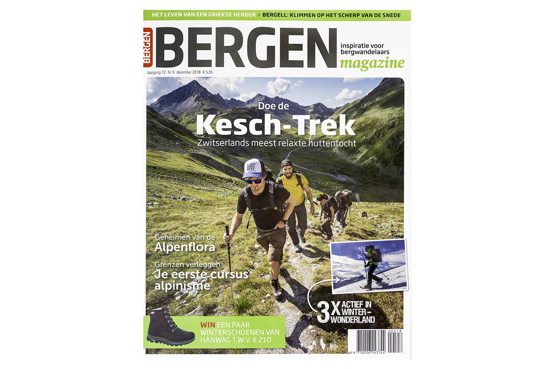 BERGEN Magazine - Huttentocht 'Kesch Trek' in Graubünden