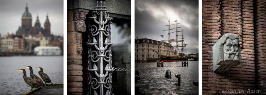 architectuur en zeevaardij in Amsterdam