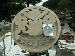 first chopping coat of arms