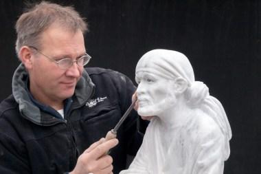 Bildhauer Koen van Velzen