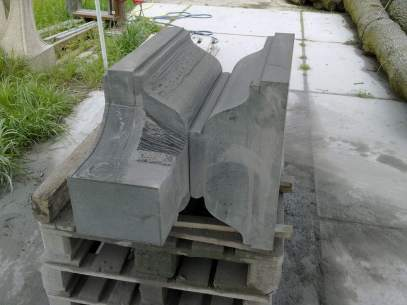 stone masonry: profiles chop saw for panipitha in black granite