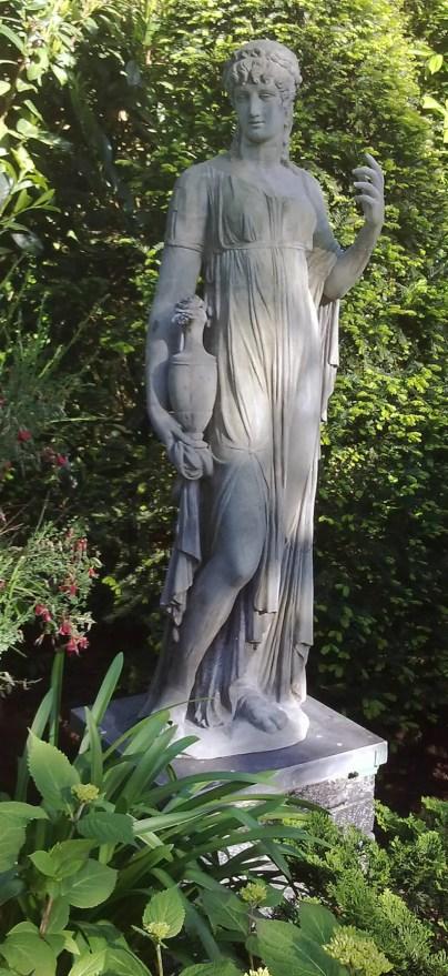 Garten Statue Flora nach der Genesung