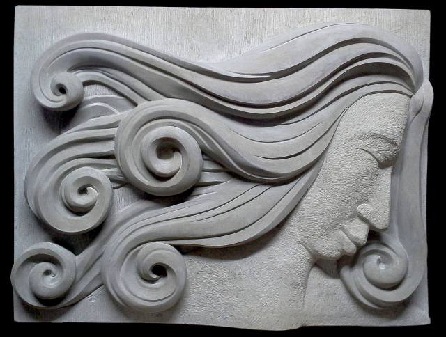Somnia. Relief in sandstone