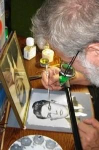 Tim Jennison's vergelijkingsapparaat waarmee hij zonder schetsen een kopie kan schilderen-SONY PICTURES CLASSICS