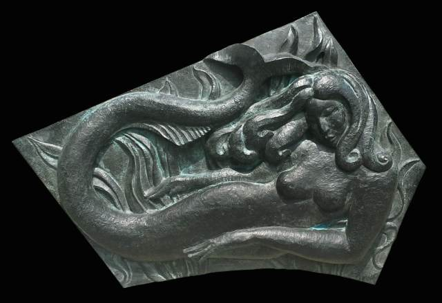 Ziegel Mermaid, Bronze