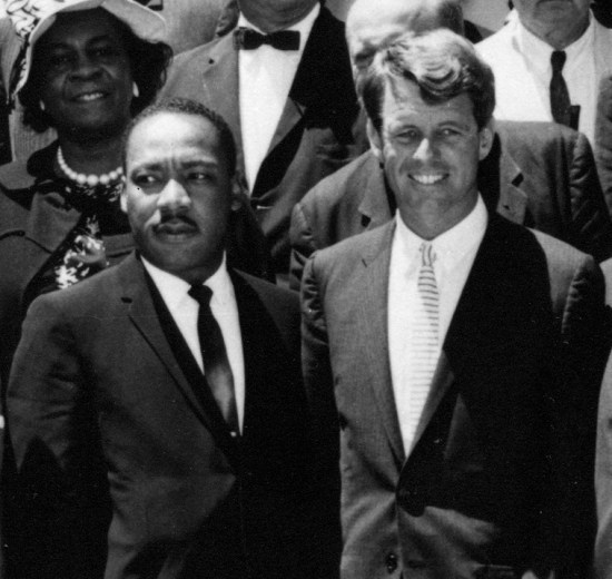 photo of RFK and MLK, Jr.