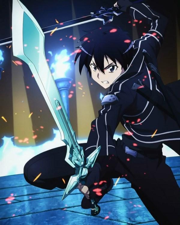 Sword Art Online Kirito Dual Wield