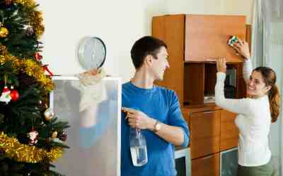 How to Clean your House Faster Just in Time for the Holidays