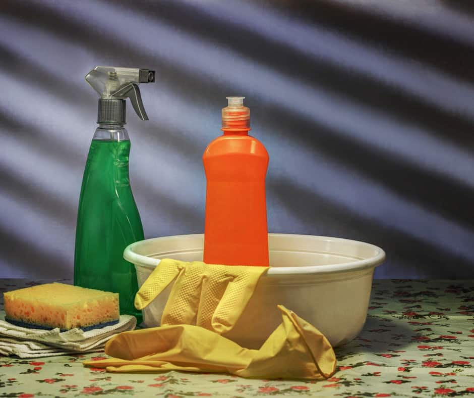 cleaning disinfecting or sanitizing