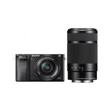 Sony - A6000 zwart + 16-50mm + 55-210mm