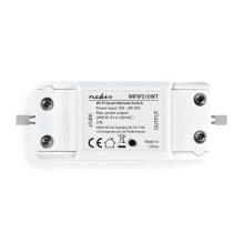 Nedis - Wi-Fi smart switch stroomonderbreker In-Line 10 A