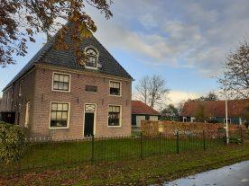 schuilkerk, koetshuis en diaconiewoningen
