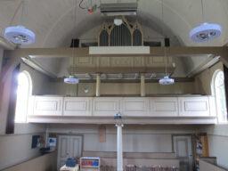 zicht op het orgel