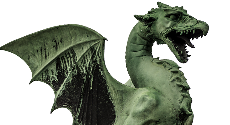 Ljubljana Dragon © Michael Raymond 2016