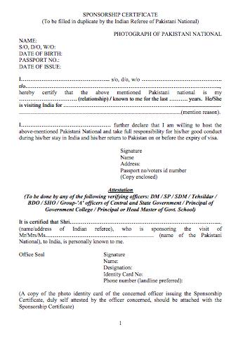 Sponsorship Letter For Australian Tourist Visa Sample | Cover Letter