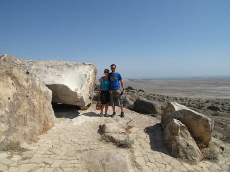 28 - Qobustan - Petroglyphes