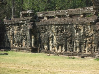 27 - Siem Reap - Elephant terrace