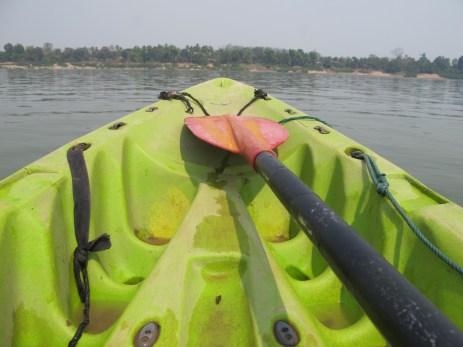 05-Don Det-kayaking on the Mekong