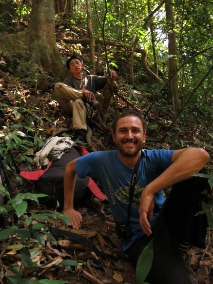 35-Luang Namtha-trekking in the jungle