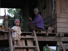 45-Luang Namtha-trekking in the jungle, village
