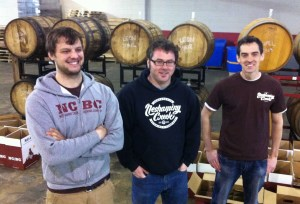 The Neshaminy staff - showing their colors and their barrels!