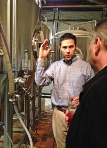 Matt sharing the gospel of craft beer