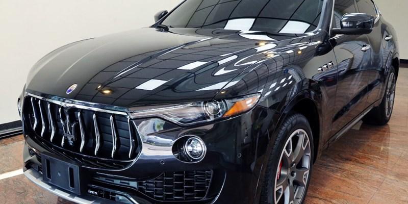 【台南汽車鍍膜】Moore摩爾車體防護 Maserati Levante鍍膜分享 前擋玻璃鍍膜$1500 送基礎洗車 ArtdeShine石墨烯橡膠型鍍膜