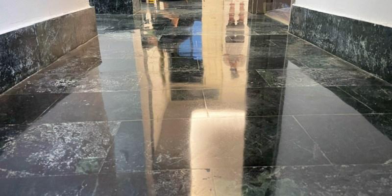 【台南石材美容/地板美容】旭浪石材美容 大理石地板研磨保養專家 講究研磨晶化工序手法 打造沽溜的光滑地板