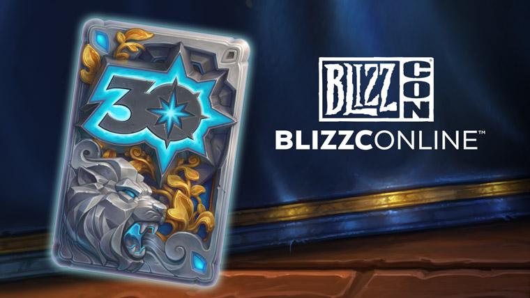 カード裏面デザイン Blizzard30周年