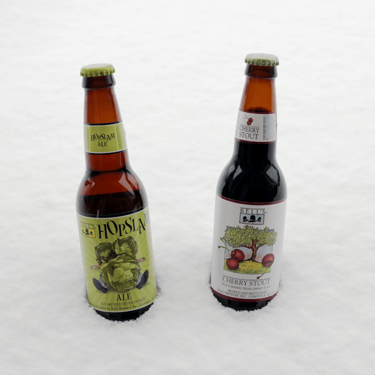 Steph's New Brew Review: Bell's Cherry Stout and Hopslam