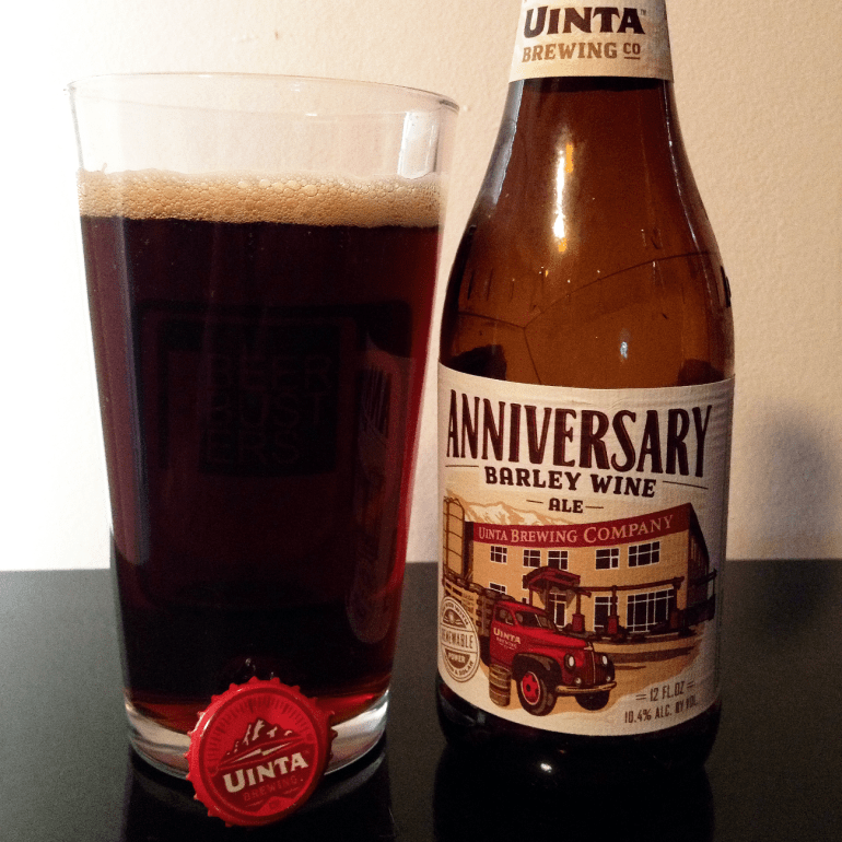 Steph's New Brew Review: Anniversary Barley Wine