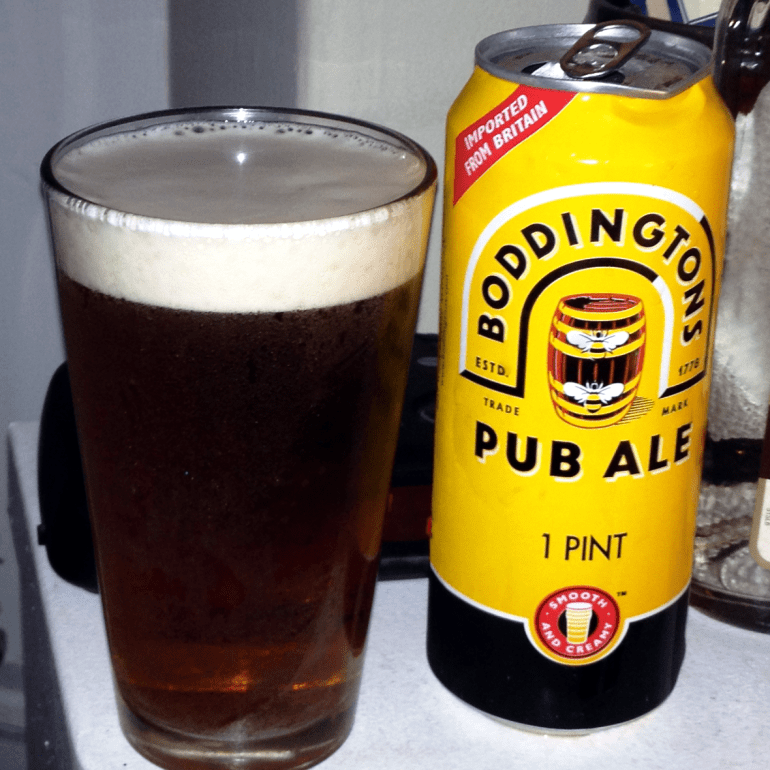 Dan's Beer Isn't From Here: Boddingtons Pub Ale