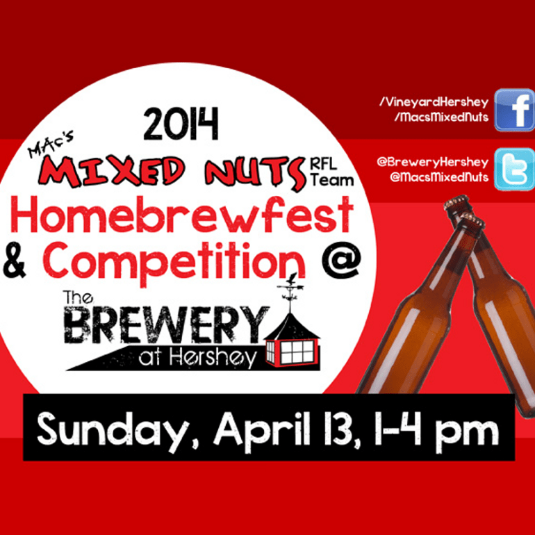 Homebrewfest and Competition at The Brewery at Hershey