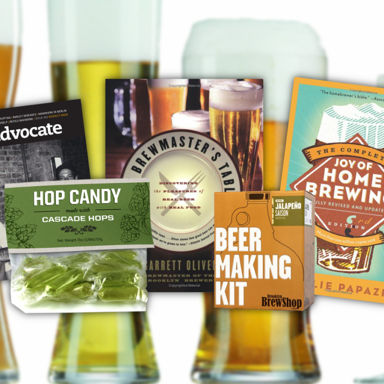 Gift Ideas for the Beer Lover on Your List