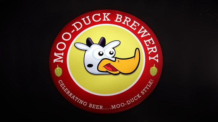 The Duck Goes Moo at Moo-Duck Brewery