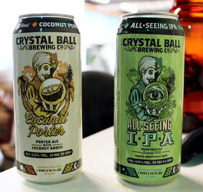 Cans from Crystal Ball Brewing Coming Soon