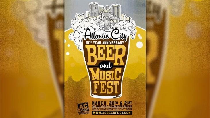 Atlantic City Beer & Music Fest 10 Year Anniversary