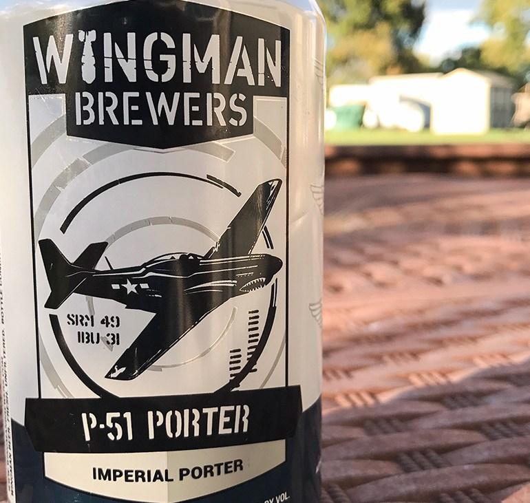Steph's New Brew Review: P-51 Porter