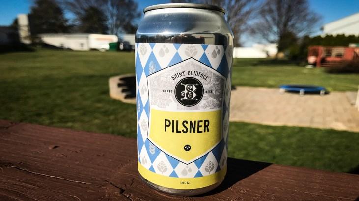 Steph's New Brew Review: St. Boniface Pilsner