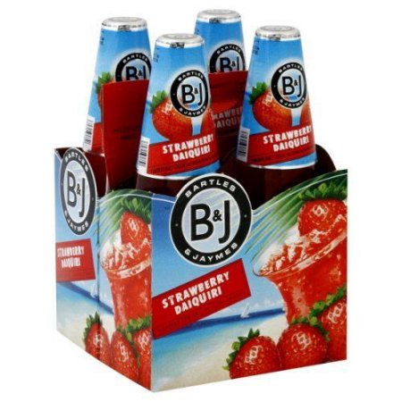 Bartles Jaymes Strawberry Daiquiryr Bottles 12oz 4