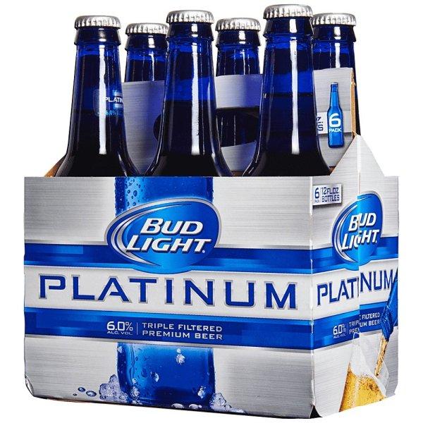 Bud Light Platinum Bottles 12oz Beercastleny