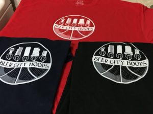 BeerCityHoops t-shirts