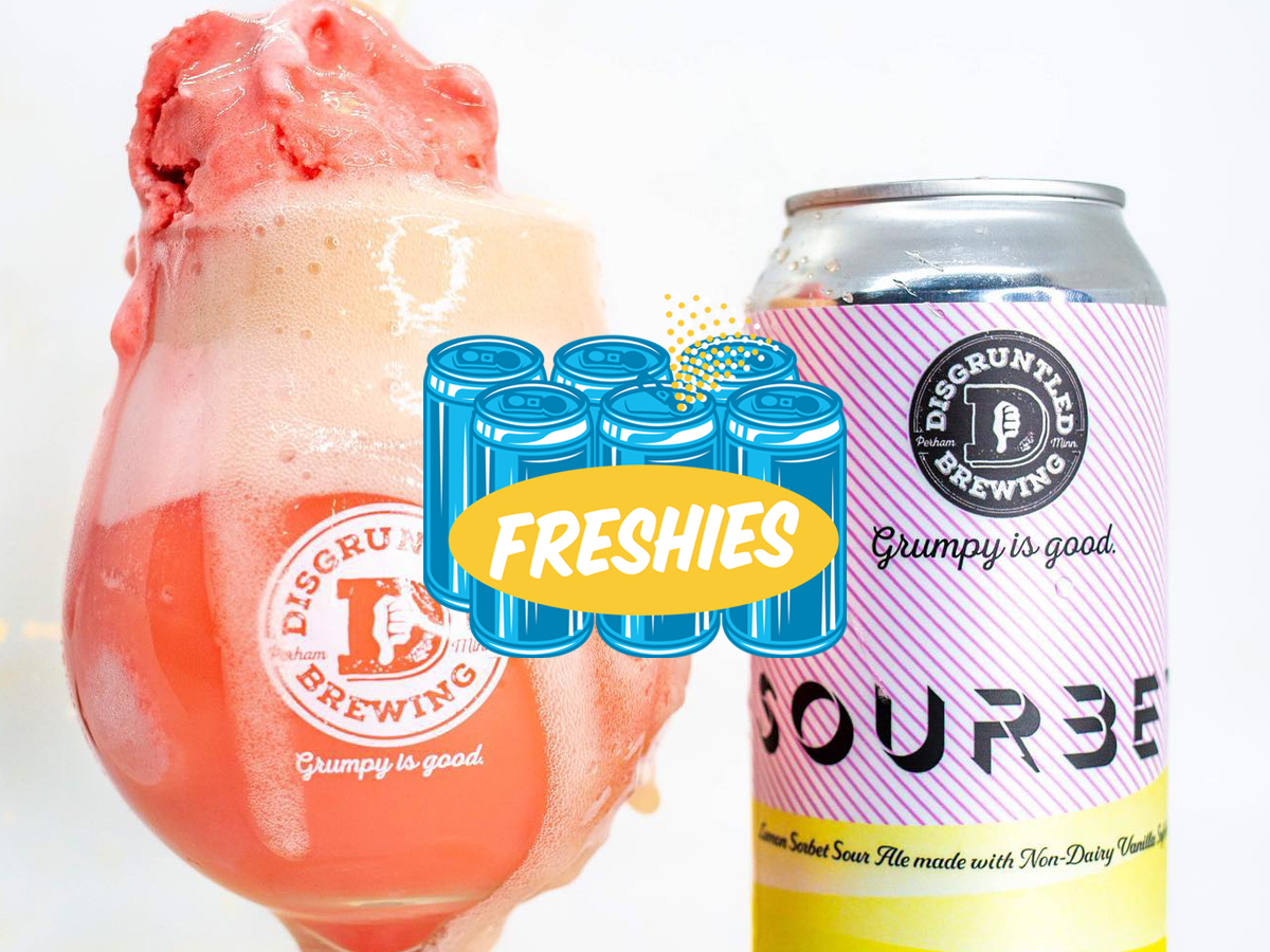 Disgruntled Sourbet pastry sour • Photo via Disgruntled Brewing