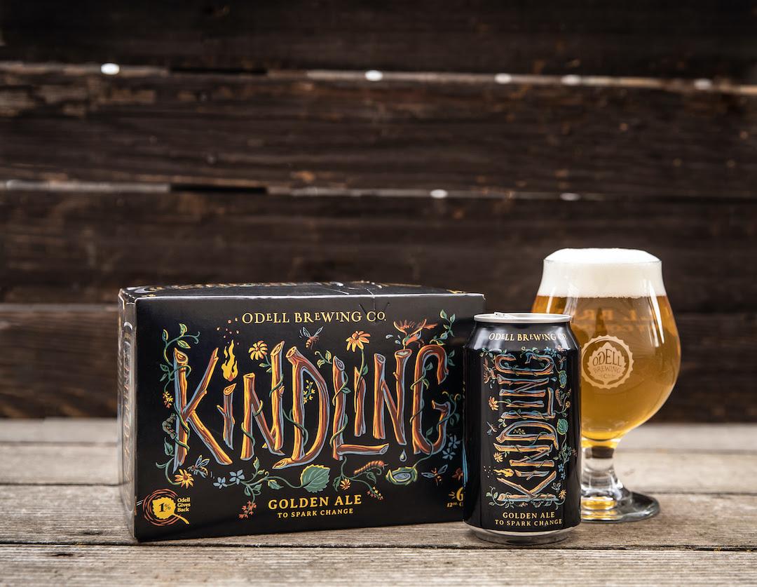 Odell Kindling Golden Ale • Photo via Odell Brewing Co.