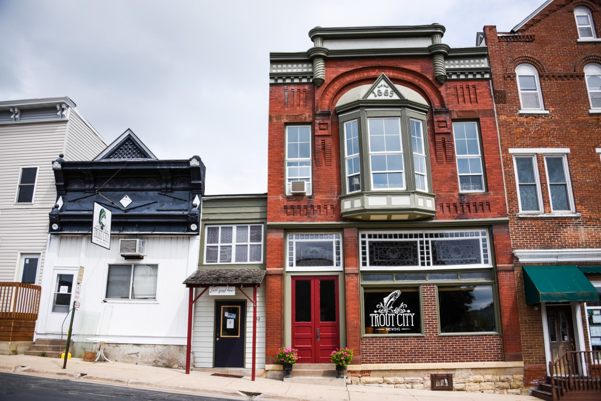 Trout City Brewing in Preston, Minnesota, is up for sale • Photo by Louis Livingston-Garcia