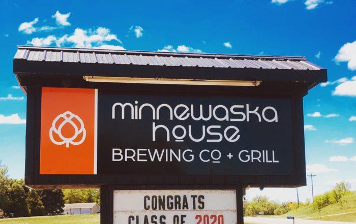 Minnewaska House Brewing Co. + Grill • Photo via Minnewaska House