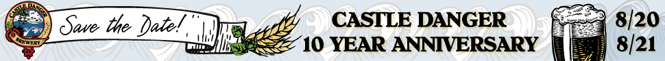 Castle Danger Brewery, 10th Anniversary Weekend, August 20 - August 21