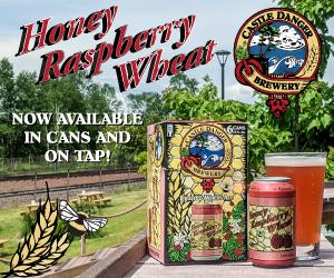 Castle Danger Brewery Honey Raspberry Wheat