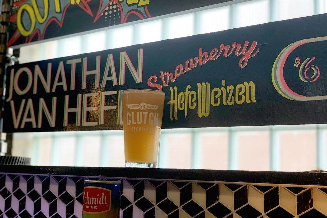 Clutch Jonathan Van Hefe • Photo via Clutch Brewing