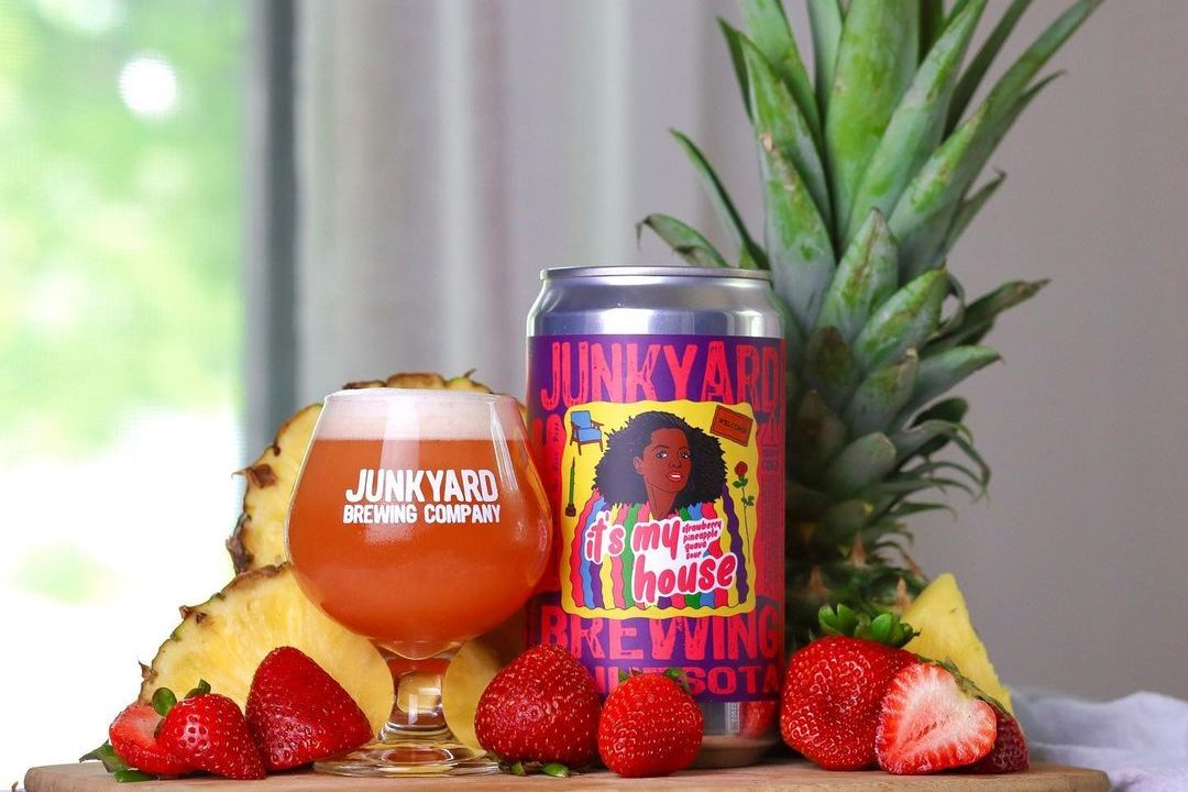 Junkyard It's My House • Photo via Junkyard Brewing